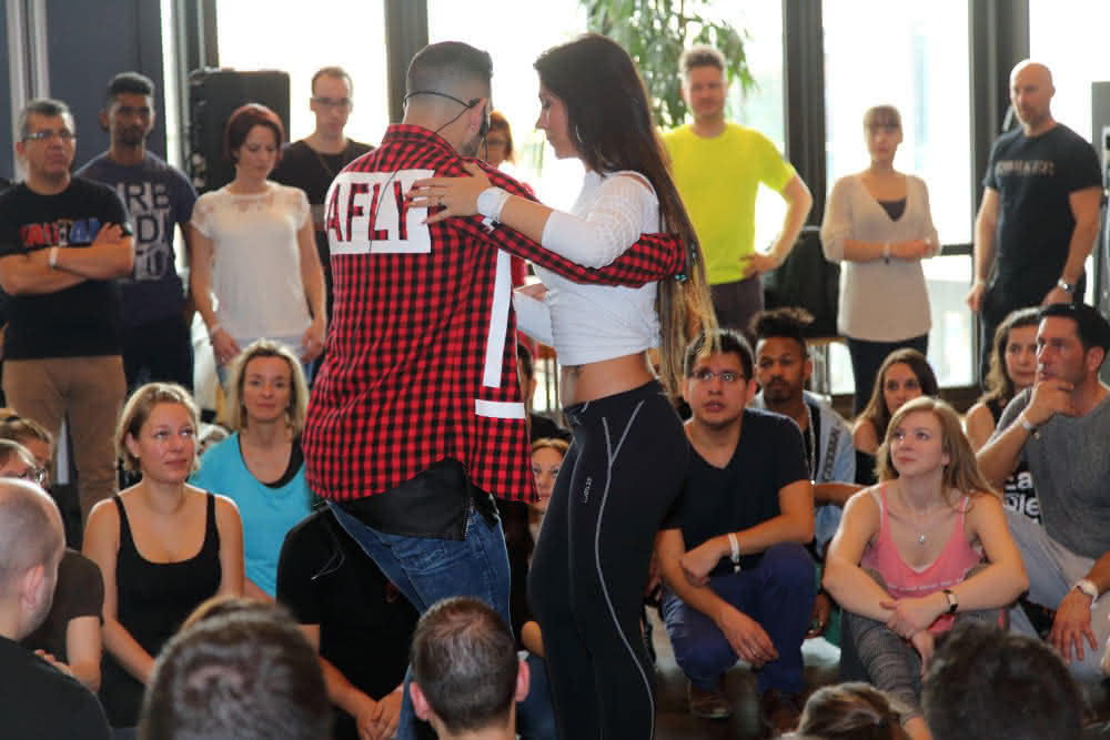 Daniel und Desiree Workshop
